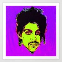 Prince / Warhol Remix Sq… Art Print
