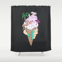 ENDLESS BUMMER Shower Curtain