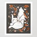 Dead Wood - Rabbit Art Print