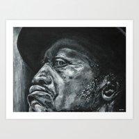 shadow part2 Art Print