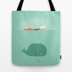 Whale Balloons  Tote Bag