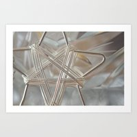 Shiny Star Art Print