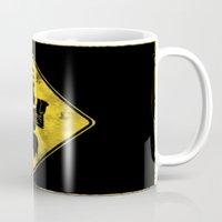 Dragon's Lair Warning Si… Mug