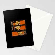 the good ,the bad , and the evil Stationery Cards