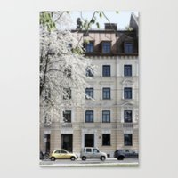 Munich House Canvas Print