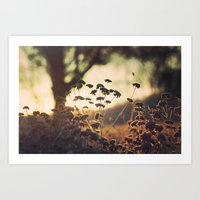 Days blur into one Art Print