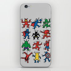 Keith Superheroes iPhone & iPod Skin