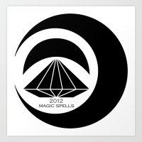 Magic Spells Art Print