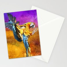 Dazzling Macaw Stationery Cards