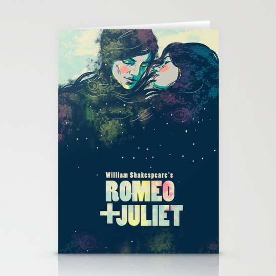 Romeo + Juliet Stationery Card