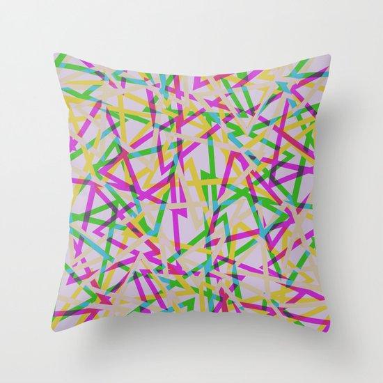 Pattern88 Throw Pillow