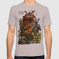 Balsley's Comix (poster) Mens Fitted Tee Cinder SMALL