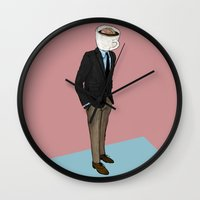 IT'S MORNING AND I THINK OF YOU Wall Clock