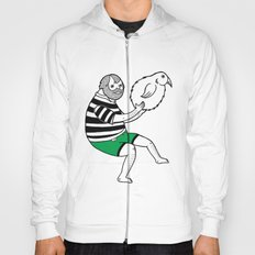 On the strange and controversial topic of bird bowling Hoody