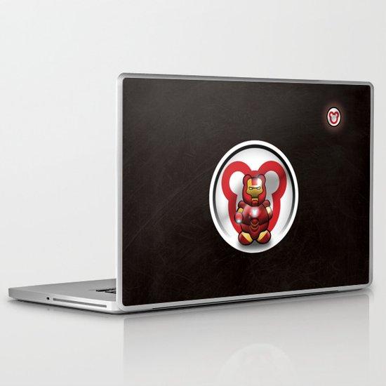 Super Bears - the Invincible One Laptop & iPad Skin