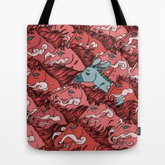 RUN! DONKEY RUN! Tote Bag