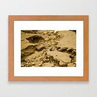Mud Flats Framed Art Print