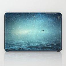 the sea and the universe iPad Case