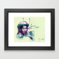 pen-fairy Framed Art Print