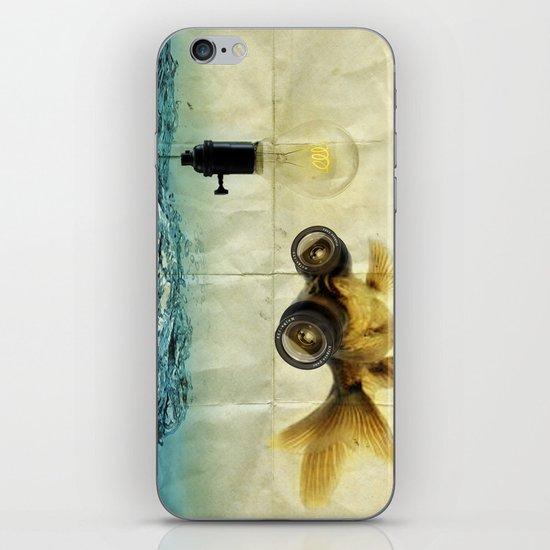 Fish Eyed Lens 03 iPhone & iPod Skin