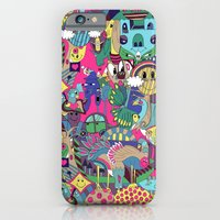 iPhone & iPod Case featuring NOT JUST FOR KIDS by Oliver Goddard