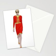 Runway Moschino Girl McDonalds Stationery Cards