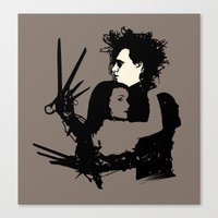 Scissorhands Canvas Print