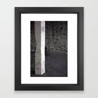 Parking spot Framed Art Print