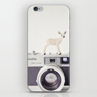The Deer And The Minolta iPhone & iPod Skin