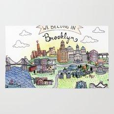 We Belong in Brooklyn Rug