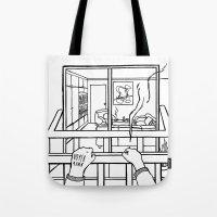 4EVER A VOYEUR Tote Bag
