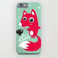 iPhone & iPod Case featuring Let's be friends by MKT4