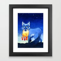 Night Takes The Day Framed Art Print