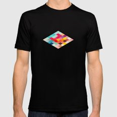 Squared SMALL Mens Fitted Tee Black