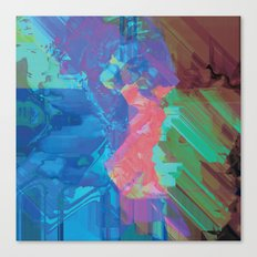 Glitchy 3 Canvas Print