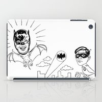 Holy Boastful Bat-man! iPad Case
