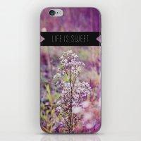 life is sweet. iPhone & iPod Skin