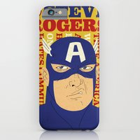 iPhone & iPod Case featuring Steve Rogers/Captain America by Joseph Rey Velasquez
