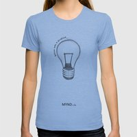 The Lord works in mysterious ways Womens Fitted Tee Athletic Blue SMALL