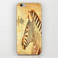 Zebra Dreams iPhone & iPod Skin