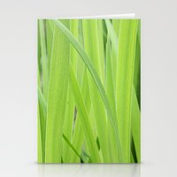 Mystic Green Stationery Cards