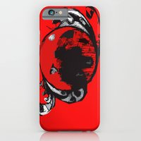 red planet iPhone 6 Slim Case