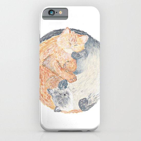 Yin Yang Cats iPhone & iPod Case