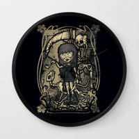 In The Darkness Wall Clock