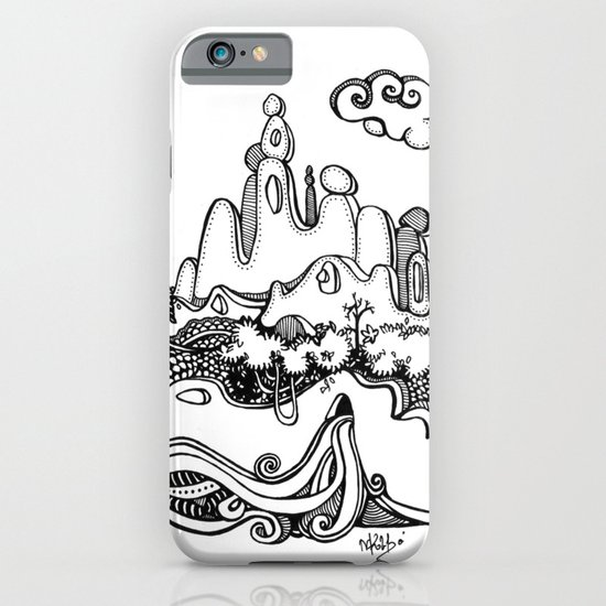 Lonely mountain iPhone & iPod Case