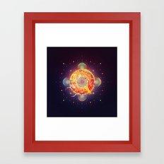Chaos in Order Framed Art Print