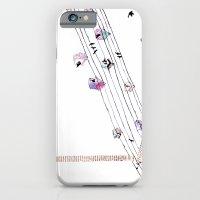 Love and birds iPhone 6 Slim Case