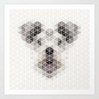 Happy pup Art Print