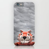 iPhone & iPod Case featuring The Eye of the Tiger by Fernando Teixeira