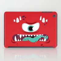 Baddest Red Monster! iPad Case